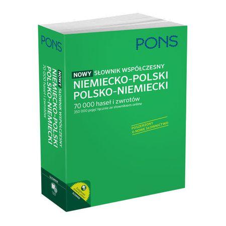 Nowy słownik współczesny niem-pol-niem PONS