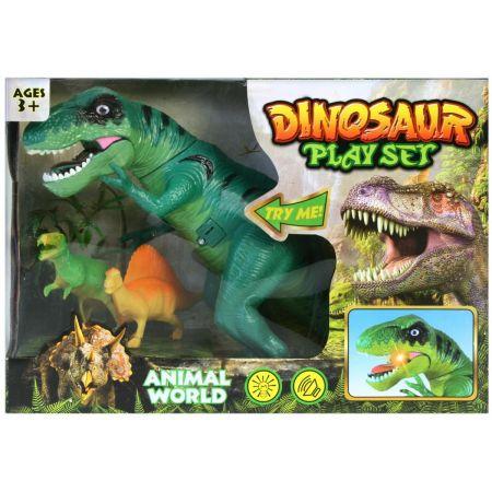 Dinozaur na baterie w pud. 34x24x12cm 1289 MC
