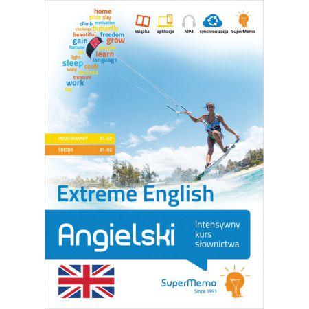 Angielski Extreme English Intensywny kurs słownictwa (poziom podstawowy A1-A2 i średni B1-B2)