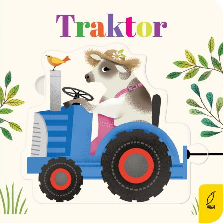 Czytanki-układanki. Traktor