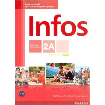 Infos 2A podręcznik z ćwiczeniami+CD PEARSON