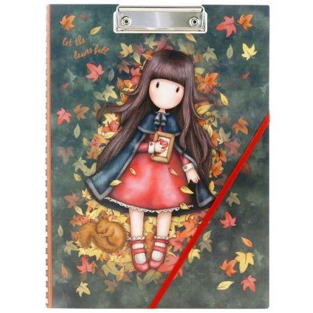 Notes A5 w koładce z klipsem - Autumn Leaves