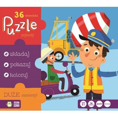 Puzzle Pojazdy 36