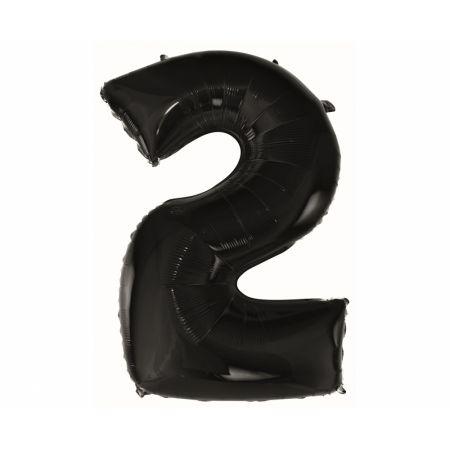 Balon foliowy cyfra 2
