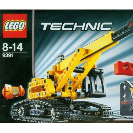 6485bdd90 LEGO Technic 9391 - Dźwig gąsienicowy klocki w TaniaKsiazka.pl