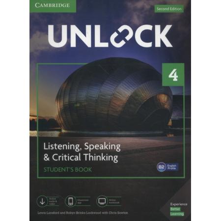 Unlock 4 Listening, Speaking & Critical Thinking Student's Book