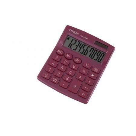 Kalkulator biurowy CITIZEN SDC-810NRPKE, 10-cyfrowy, 127x105mm, różowy