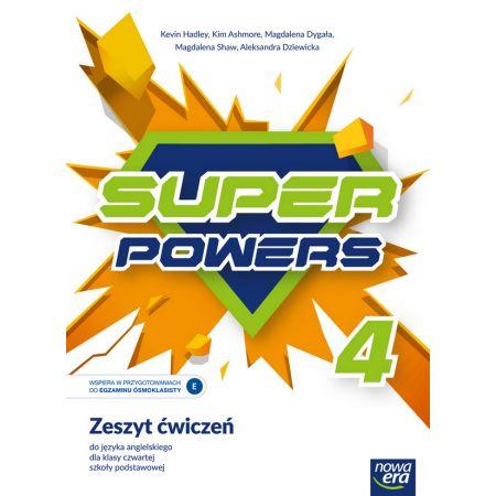 J. Angielski SP 4 Super Powers ćw. NE
