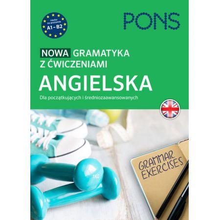 Nowa gramatyka z ćwiczeniami. Angielska PONS
