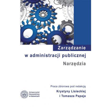 Zarządzanie w administracji publicznej. Narzędzia
