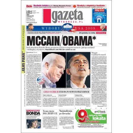 Gazeta Wyborcza - Kielce 259/2008
