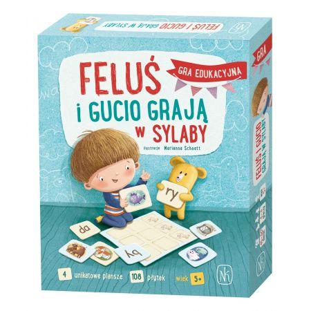 Feluś i Gucio grają w sylaby. Sprawdź >