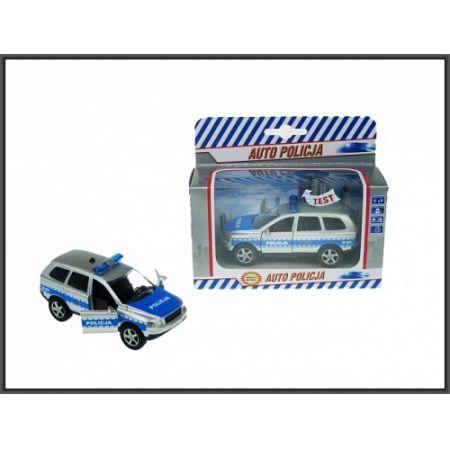 AUTO POLICJA MET DZW/SW P/B 15X13X6 PLPL WB