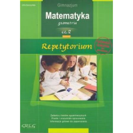 Repetytorium gimnazjum matematyka cz. 2 geometria
