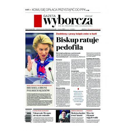 Gazeta Wyborcza - Łódź 11/2020