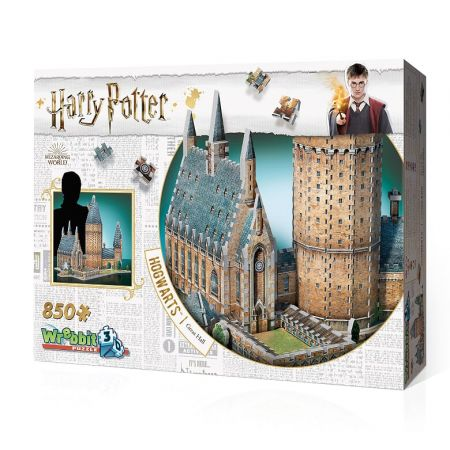 Wrebbit puzzle 3D 850 el Hogwarts Great Hall