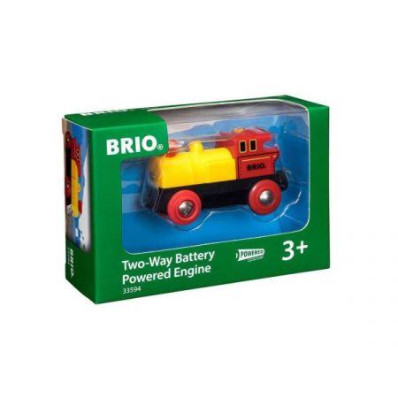 BRIO 33594 Parowóz żółto-czerwony