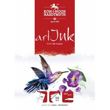 Blok do tuszu Art Ink A5 25 kartek 350 G.