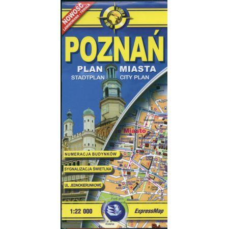 Comfort!map Poznań 1:22 000 plan miasta
