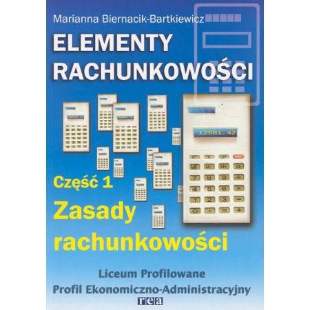 Elementy rachunkowości cz 1 LO REA