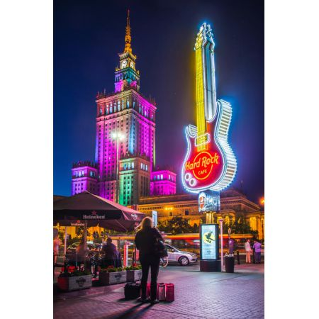 Pałac Kultury Pod Gitarą - plakat premium