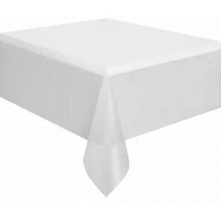 Obrus foliowy 137X247CM biały 1510245 L&H