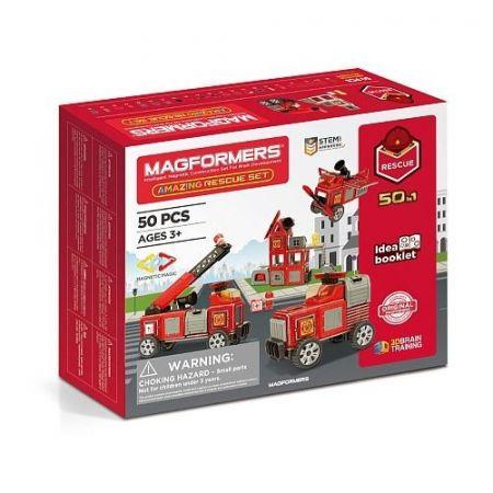 Magformers Amazing Rescue Set Zestaw ratunkowy 50 elementów