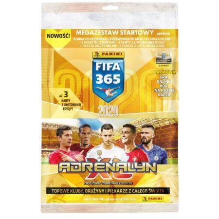 PROMO FIFA 365 Adrenalin 2020 Megazestaw startowy 00818 PANINI