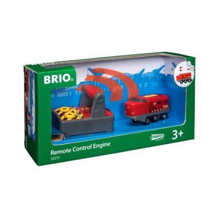BRIO 33213 Lokokomotywa Czerwona zdalnie sterowana
