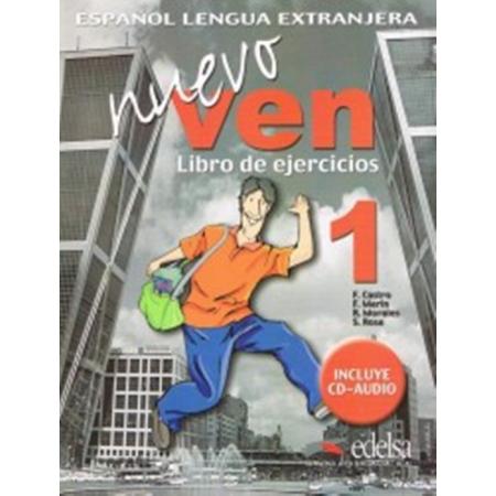Nuevo Ven 1 ćwiczenia + CD audio EDELSA