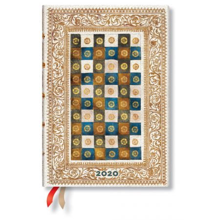 Kalendarz książkowy midi 2020 12M Aureo