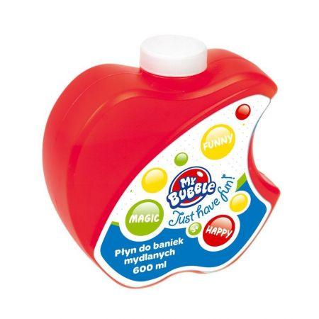 Płyn do baniek mydlanych 600ml jabłko