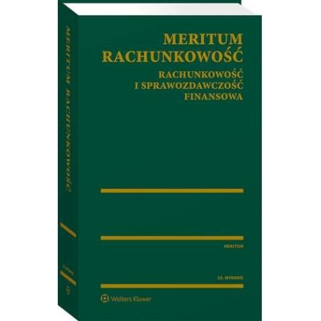 MERITUM Rachunkowość. Rachunkowość i sprawozdawczość finansowa