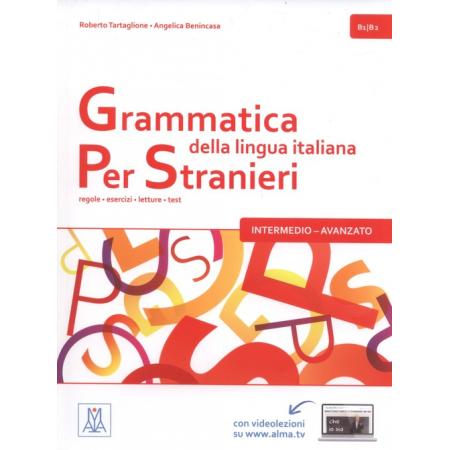 Grammatica italiana per stranieri intermedio-avanzato B1/B2