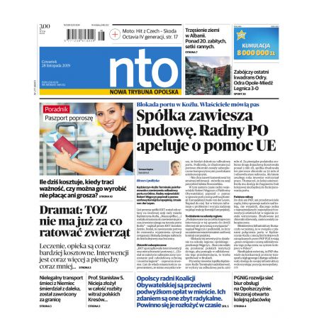 Nowa Trybuna Opolska 277/2019