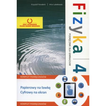 Fizyka z plusem 4. Podręcznik. Gimnazjum