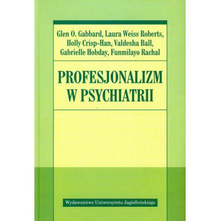 Profesjonalizm w psychiatrii