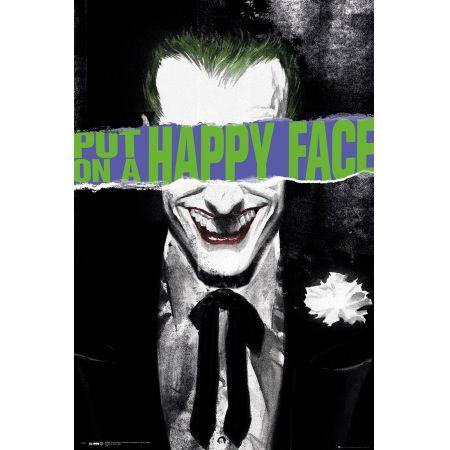 Dc Comics Joker Happy Face Plakat
