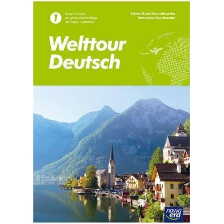 welttour deutsch 1 język niemiecki podręcznik liceum i technikum
