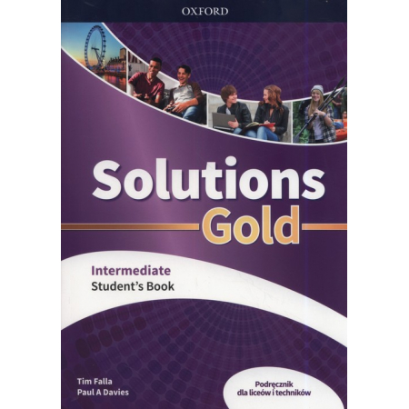 Solutions Gold Intermediate Student's Book. Fourth edition