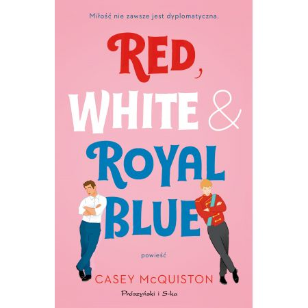 red white royal blue recenzja