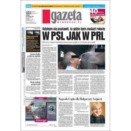 Gazeta Wyborcza - Zielona Góra 223/2008