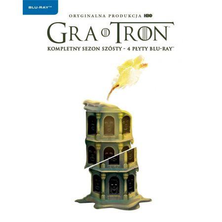 Gra o tron. Sezon 6 (4 Blu-ray)