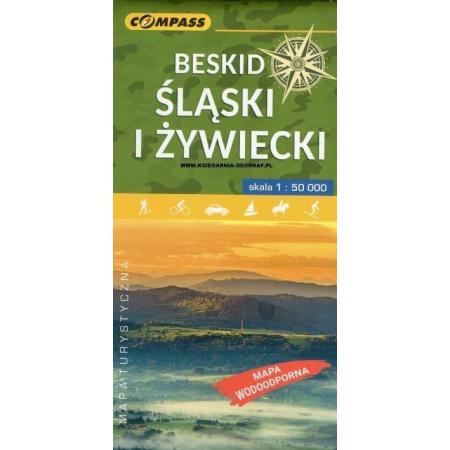 Mapa Tur Beskid Slaski I Zywiecki 1 50 000 W Taniaksiazka Pl