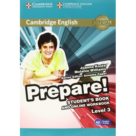 Cambridge English Prepare! 3 Student's Book + online workbook