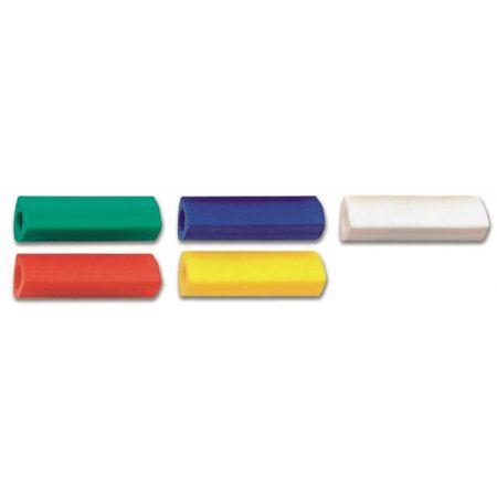 Gumka nakładka trójkątna 5 kolorów