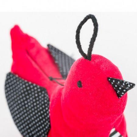 Whisbird - Szumiący Ptaszek (czerwony)