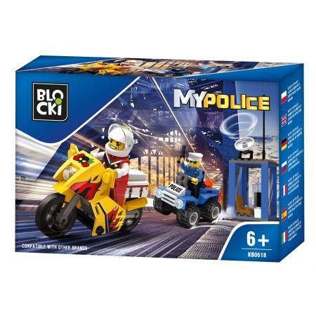 Blocki mypolice 79 elementów kb0618