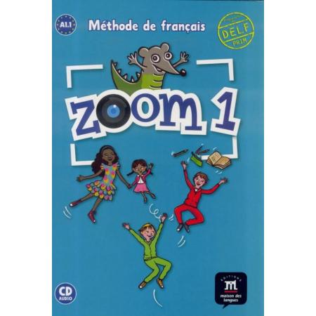 Zoom 1 podręcznik + CD