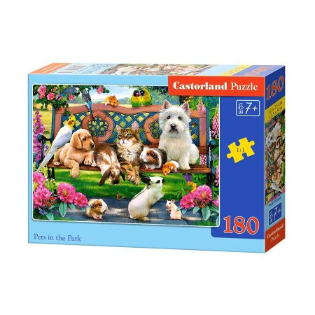 Puzzle 180 Pets in the Park CASTOR